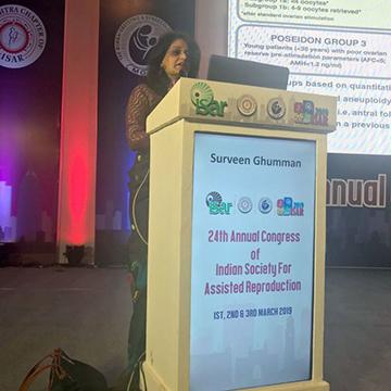 Award for Best IVF Doctor in Delhi three