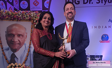Top IVF Doctor in Delhi Award Two